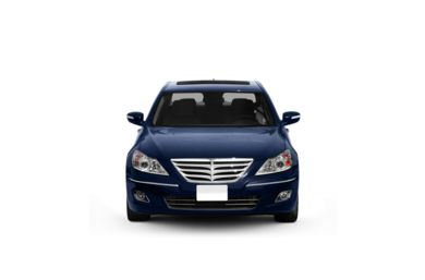 Surround Front Profile  2011 Hyundai Genesis Sedan