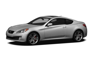 3/4 Front Glamour 2011 Hyundai Genesis Coupe