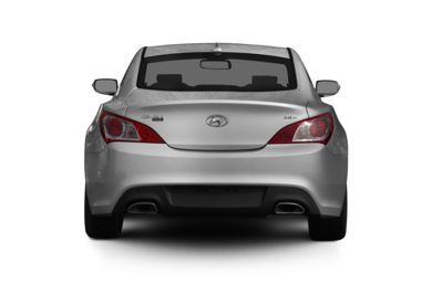 Rear Profile  2011 Hyundai Genesis Coupe