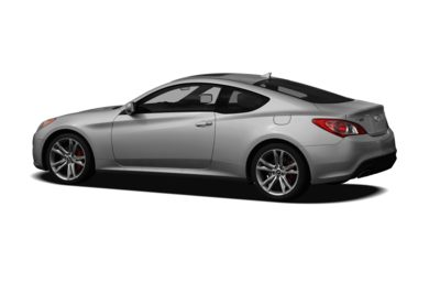 Surround 3/4 Rear - Drivers Side  2011 Hyundai Genesis Coupe