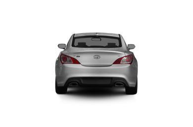 Surround Rear Profile 2011 Hyundai Genesis Coupe