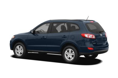 Surround 3/4 Rear - Drivers Side  2011 Hyundai Santa Fe