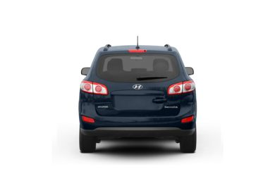 Surround Rear Profile 2011 Hyundai Santa Fe