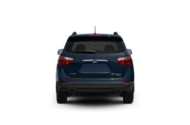 Surround Rear Profile 2011 Hyundai Veracruz