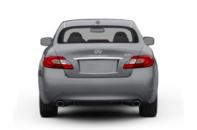 Rear Profile  2011 Infiniti M37x
