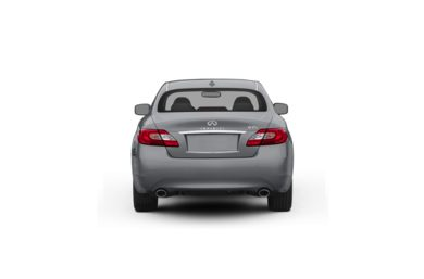 Surround Rear Profile 2011 Infiniti M37x