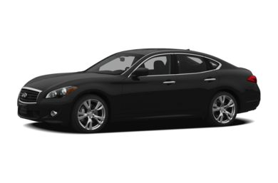 3/4 Front Glamour 2011 INFINITI M56