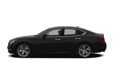 90 Degree Profile 2011 INFINITI M56x