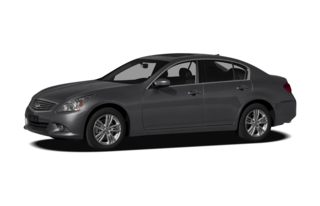 3/4 Front Glamour 2011 Infiniti G25x