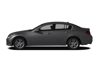 90 Degree Profile 2011 Infiniti G25x