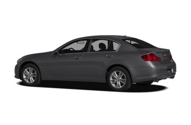 Surround 3/4 Rear - Drivers Side  2011 Infiniti G25x