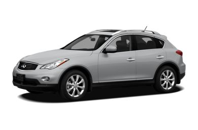 3/4 Front Glamour 2011 Infiniti EX35