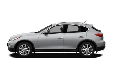 90 Degree Profile 2011 Infiniti EX35