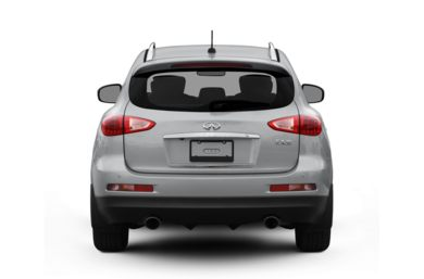 Rear Profile  2011 Infiniti EX35