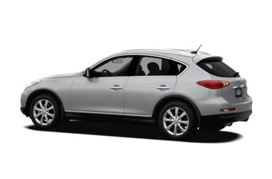 Surround 3/4 Rear - Drivers Side  2011 INFINITI EX35