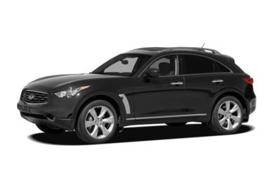 3/4 Front Glamour 2011 Infiniti FX50