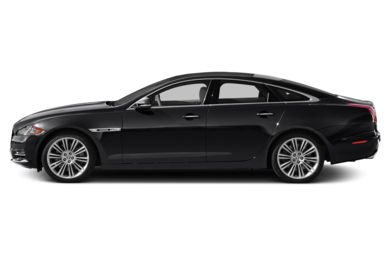 90 Degree Profile 2014 Jaguar XJ