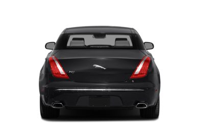 Rear Profile  2014 Jaguar XJ
