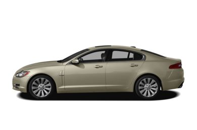 90 Degree Profile 2011 Jaguar XF