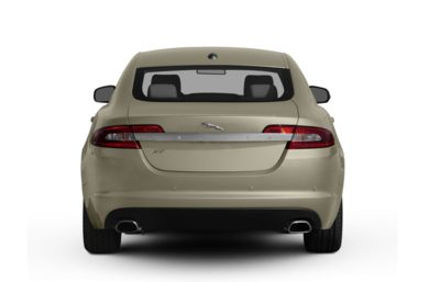 Rear Profile  2011 Jaguar XF