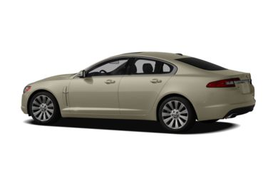 Surround 3/4 Rear - Drivers Side  2011 Jaguar XF
