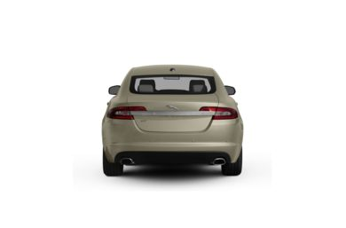 Surround Rear Profile 2011 Jaguar XF