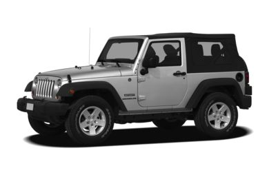 3/4 Front Glamour 2011 Jeep Wrangler