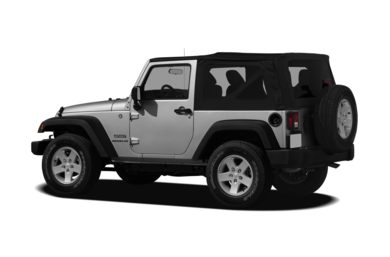 Surround 3/4 Rear - Drivers Side  2011 Jeep Wrangler