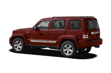 Surround 3/4 Rear - Drivers Side  2011 Jeep Liberty