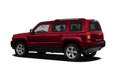 Surround 3/4 Rear - Drivers Side  2011 Jeep Patriot