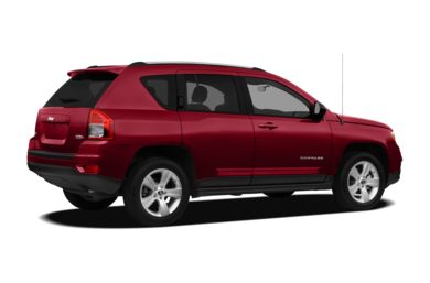 3/4 Rear Glamour  2011 Jeep Compass
