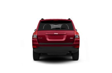Surround Rear Profile 2011 Jeep Compass