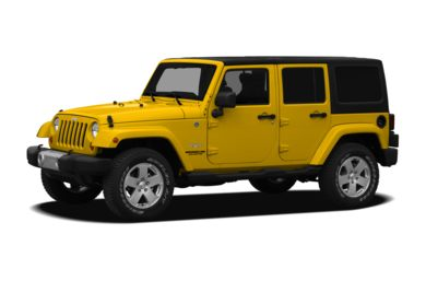 3/4 Front Glamour 2011 Jeep Wrangler Unlimited