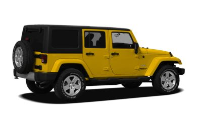 3/4 Rear Glamour  2011 Jeep Wrangler Unlimited