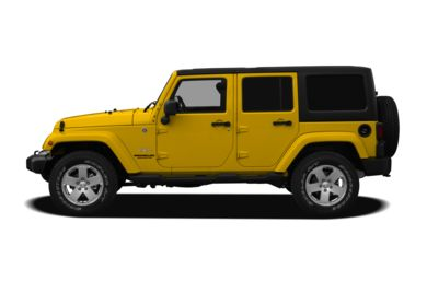 90 Degree Profile 2011 Jeep Wrangler Unlimited