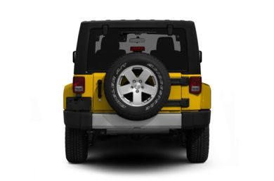 Rear Profile  2011 Jeep Wrangler Unlimited