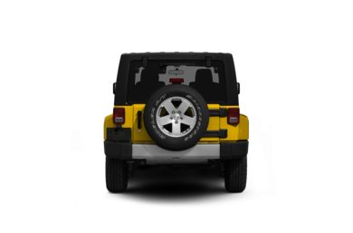 Surround Rear Profile 2011 Jeep Wrangler Unlimited