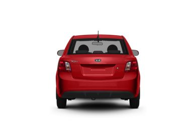 Surround Rear Profile 2011 Kia Rio