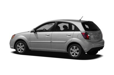 Surround 3/4 Rear - Drivers Side  2011 Kia Rio5