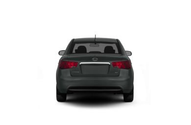 Surround Rear Profile 2011 Kia Forte