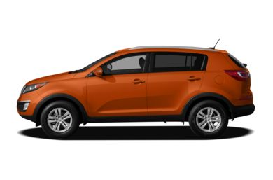 90 Degree Profile 2011 Kia Sportage