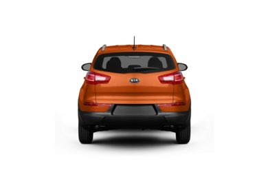 Surround Rear Profile 2011 Kia Sportage