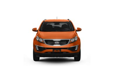 Surround Front Profile  2011 Kia Sportage