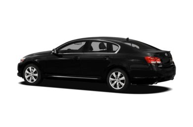 Surround 3/4 Rear - Drivers Side  2011 Lexus GS 350