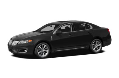 3/4 Front Glamour 2011 Lincoln MKS