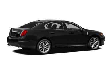3/4 Rear Glamour  2011 Lincoln MKS
