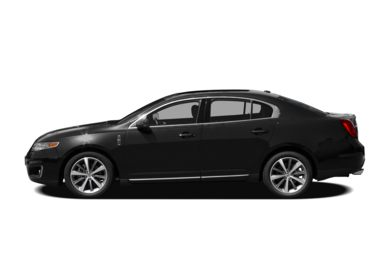90 Degree Profile 2011 Lincoln MKS