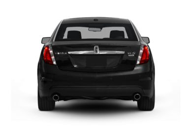 Rear Profile  2011 Lincoln MKS