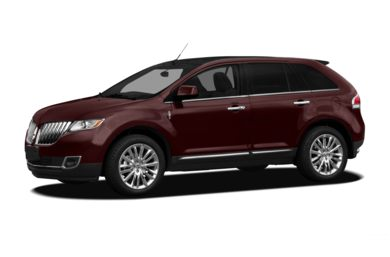 3/4 Front Glamour 2011 Lincoln MKX