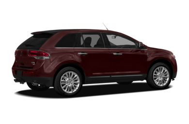 3/4 Rear Glamour  2011 Lincoln MKX